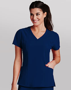 care uniforms, Barco, V neck scrub top, scrub pants