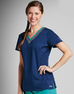 womens nursing scrubs, Greys Anatomy, scrub top, scrub pants