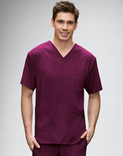 mens nursing uniform, Grey's Anatomy, scrub top, scrub pants