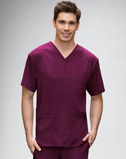 mens nursing uniform, Grey's Anatomy, scrub top, scrub pants